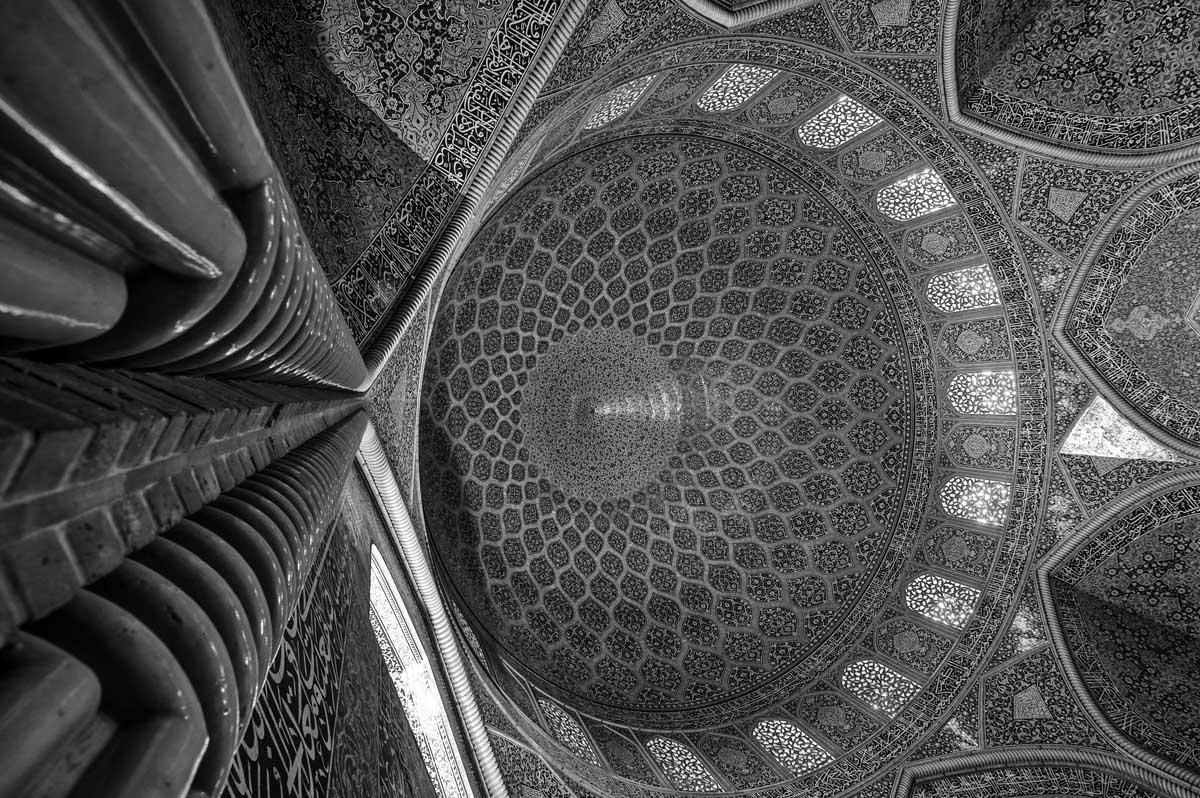 626-1814. 16.08.14 persia esfahan masjed-e sheikh lotfollah