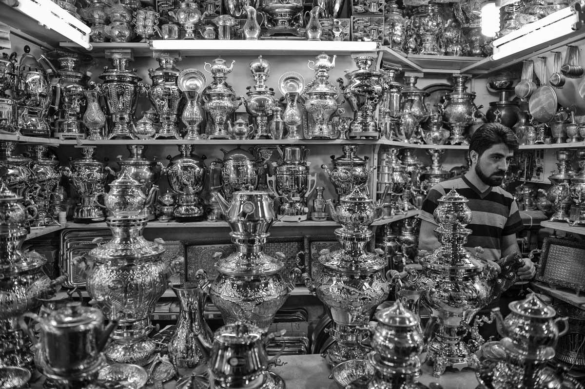 654-1978. 16.08.14 persia esfahan bazar-e bozorg