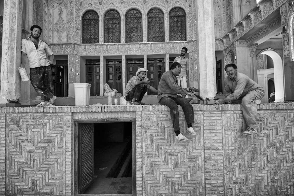 688-2168. 17.08.14 persia kashan khan-e borujerdi (casa aristocratica)