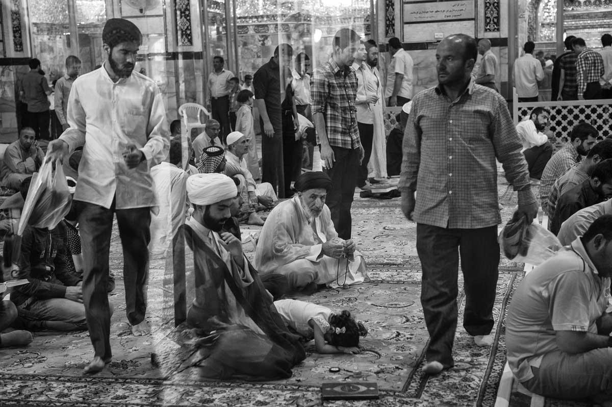 733-2373. 17.08.14 persia qom hazrat-e masumeh santuario con tomba di fatemeh